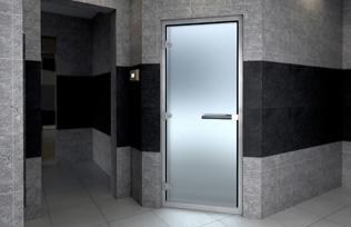 Höyryhuoneen ovi